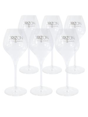 6 verres Orizon