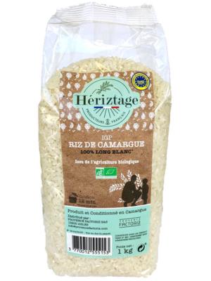 Riz Bio de Camargue long blanc