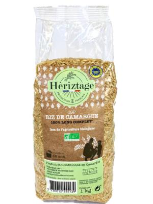 Riz Bio de Camargue long complet