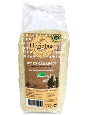 Riz Bio de Camargue rond blanc