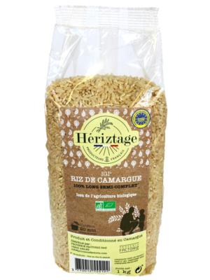 Riz Bio de Camargue semi complet